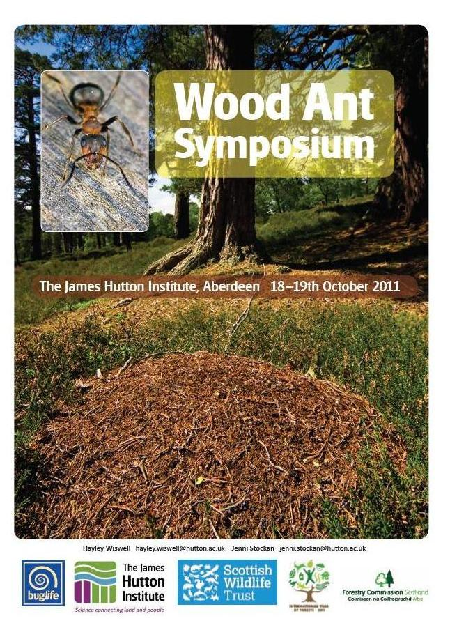 Wood Ant Symposium poster